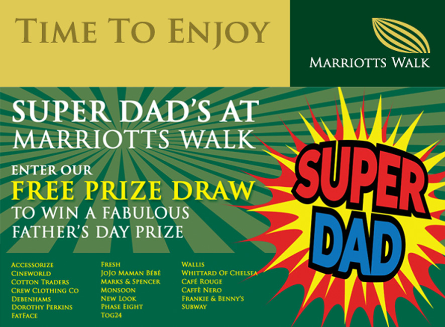 Marriotts Walk Events_Fathers Day