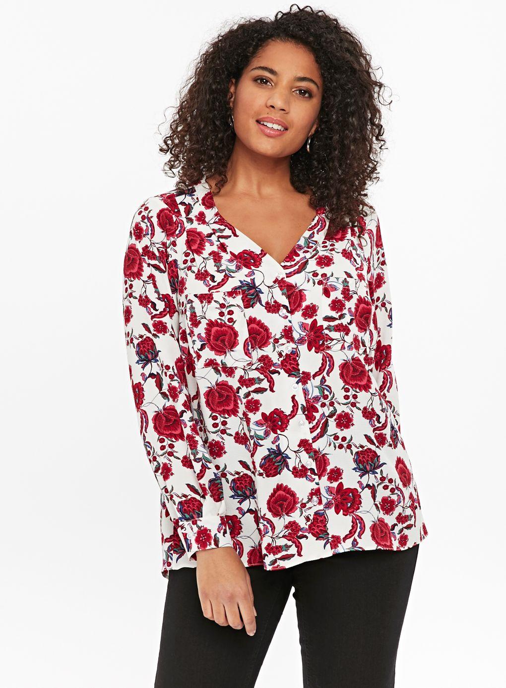 Ivy Floral Print Shirt