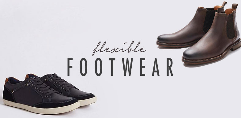 Flexible-footwear-men