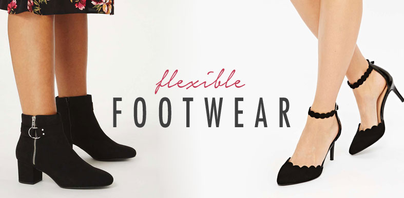 Flexible-footwear