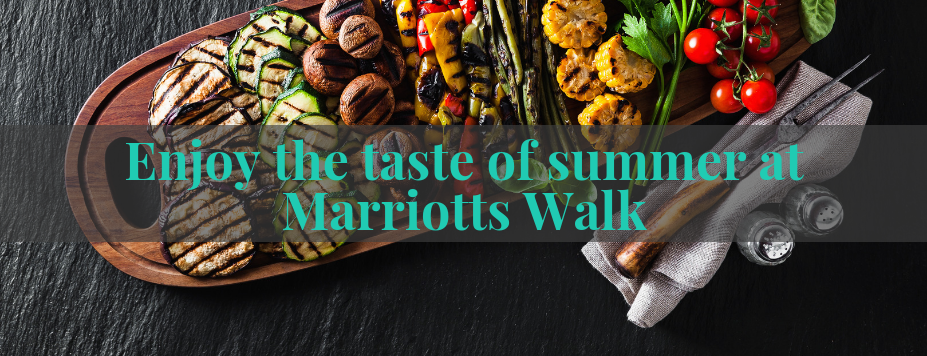 Marriotts Walk Blog Header July Food 927x356px